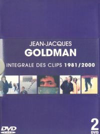 Cover Jean-Jacques Goldman - Integrale des clips 1981/2000 [DVD]